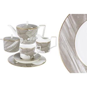 Чайный сервиз 21 предмет на 6 персон Naomi Лунная соната (NG-I160703S-21) naomi чайный сервиз флагман 40 предметов на 12 персон