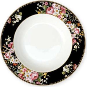 Тарелка суповая 23 см Easy Life (R2S) Цветочный карнавал темный (R2S1360/BLOB-AL)