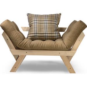 Кресло Anderson Отман сосна-бежевая рогожка