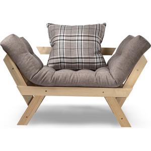 Кресло Anderson Отман сосна-серая рогожка