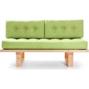 Кушетка Anderson Торн сосна-зеленая рогожка прямой диван андерсон кушетка торн м сосна