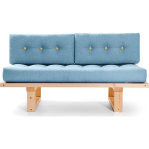 Кушетка Anderson Торн сосна-синяя рогожка прямой диван андерсон кушетка торн м сосна