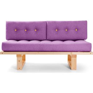 Кушетка Anderson Торн сосна-фиолетовая рогожка прямой диван андерсон кушетка торн м сосна