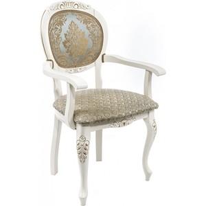 Кресло Woodville Adriano 2 молочный. недорго, оригинальная цена