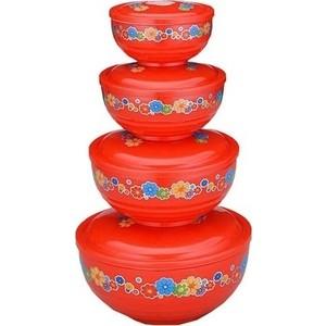 Набор контейнеров для хранения продуктов 4 штуки Gelberk (GLK-202) блендер gelberk gl 513