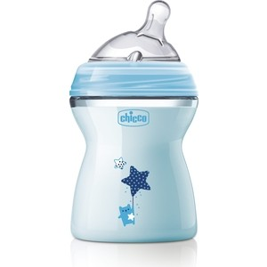 Бутылочка Chicco Natural Feeling PP, 2+, 250 мл, Blue,