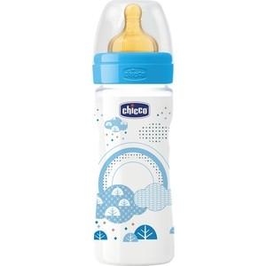 Бутылочка Chicco Well-Being Boy 2 месяцев+, 250 мл 310205113