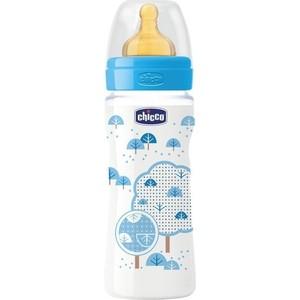 Бутылочка Chicco Well-Being Boy 4 месяцев+, 330 мл 310205115
