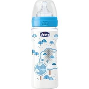 Бутылочка Chicco Well-Being Boy 4 месяцев+, 330 мл, 310205116