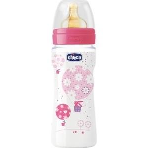 Бутылочка Chicco Well-Being Girl 4 месяцев+, 330 мл, 310205121