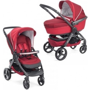 Коляска 2 в 1 Chicco Stylego Red Passion