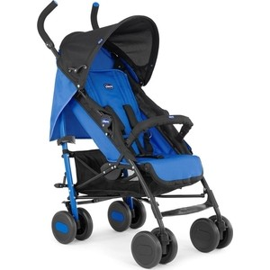 цена на Коляска трость Chicco Echo stroller с бампером Power Blue
