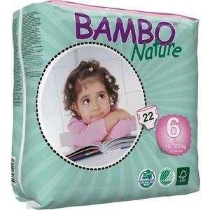 Подгузники Bambo Nature XL 16-30 кг (22 шт)