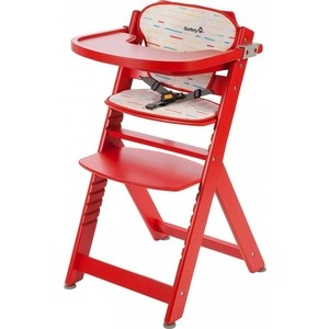 Стульчик для кормления Safety 1st. Timba with Tray and Cushion + мягкий вкладыш Red Lines