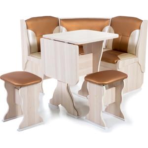 Набор мебели для кухни Бител Нарцисс - комби (ясень С-109 + С-101 ясень)