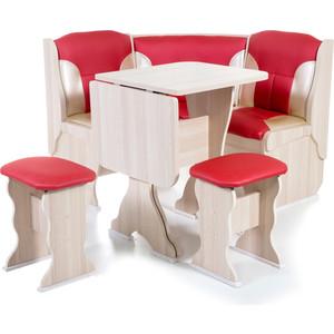 Набор мебели для кухни Бител Нарцисс - комби (ясень терра эффект 112 + С-101 ясень)