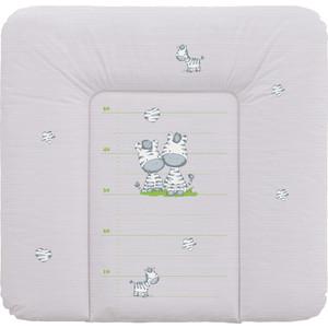 Матрас пеленальный Ceba Baby 70*75 см мягкий на комод Zebra grey W-144-002-260 цена
