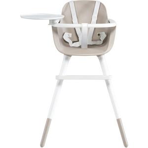 Стульчик для кормления Micuna OVO Т-1771 PLUS ICE (white/natural) полипропиленовые ремни white стульчик для кормления micuna t 950 white blue bears