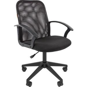Офисноекресло Chairman 615 TW черный офисное кресло chairman fuga черный