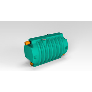 Блок биофильтра ЭкоПром Rostok (1000х750х1500 мм)(в комплекте торф 2 м х 250л. и керамзит 5 50л.)(631.1000.899.0)