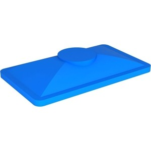 Крышка для ванны ЭкоПром K 400 синяя (170х780х1325) (133.0400.601.0)