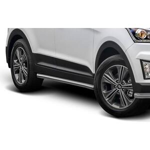 Защита порогов d57 Rival для Hyundai Creta (2016-н.в.), R.2310.005 защита переднего бампера d57 d42 rival для hyundai creta 2016 н в r 2310 002