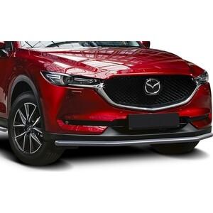 Защита переднего бампера d42 Rival для Mazda CX-5 (2017-н.в.), R.3804.001 коврик в багажник с защитой бампера chn для mazda cx 5 2017