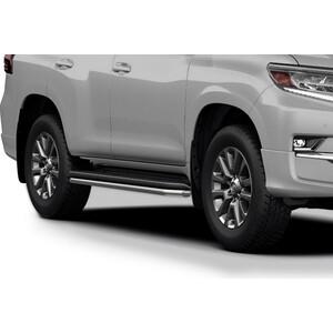 Защита штатного порога d42 Rival для Toyota Land Cruiser Prado 150 (2009-2017 / 2017-н.в.), R.5704.016