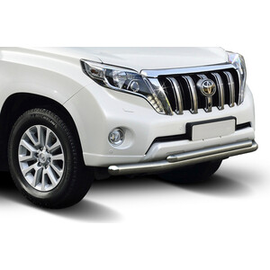 Защита переднего бампера d76+d57 Rival для Toyota Land Cruiser Prado 150 (2009-2013 / 2013-2017), R.5704.007 12inch gold latex balloons heart foil balloons confetti balloon patry balloons wedding birthday party decor globos supplies