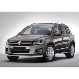 Защита порогов d57 Rival для Volkswagen Tiguan (2011-2017), R.5802.004