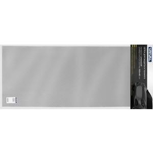 Универсальная сетка 1000х400 R10 Rival для защиты радиатора, черная, 1 шт. (индивидуальная упаковка), INDIV.ZS.1001.2 тумблер 250v 3а 3c on on однополюсный micro mts 102 rexant индивидуальная упаковка 1 шт