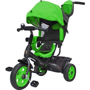Велосипед трехколесный GALAXY Лучик VIVAT зеленый цена