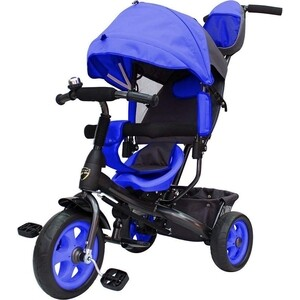 Велосипед трехколесный GALAXY Лучик VIVAT синий все цены