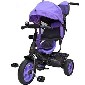 Велосипед трехколесный GALAXY Лучик VIVAT фиолетовый все цены
