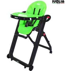 Стульчик для кормления Ivolia LOVE 02 4 колеса green