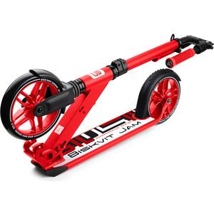 Самокат 2 - х колесный Biskvit Jam с большими колесами и амортизатором Super-Premium 1 (красный)