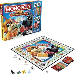 Настольная игра Hasbro Игра Монополия Джуниор С Карт