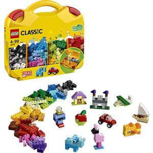 Конструктор Lego Классика Чемоданчик для творчества и конструирования мастерская малыша чемоданчик 5 набор основ и материалов для творчества