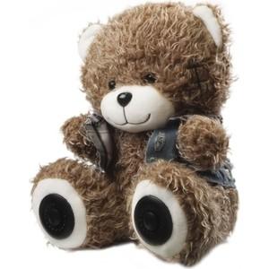Портативная колонка Ritmix ST-250 Bear BT brown цена и фото