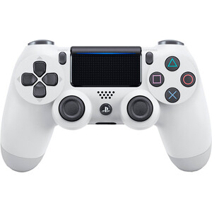 Геймпад Sony DualShock 4 v2 White (CUH-ZCT2E) refurbished sony playstation 3 dualshock wireless controller