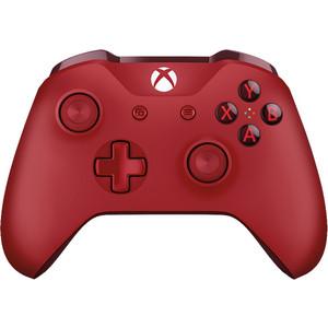 Геймпад Microsoft XBox One беспроводной геймпад красный (WL3-00028) все цены