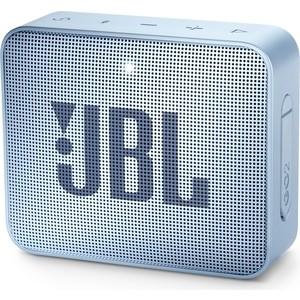 Портативная колонка JBL GO 2 cyan портативная колонка jbl go 2 мятный