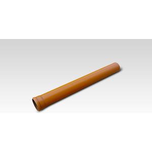 цена на Труба Хемкор НПВХ 110х2000 оранжевая (617.0033.000.0)