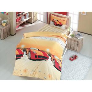 Детское постельное белье Altinbasak Speed Time с наволочкой 50x70 красный (296/4/CHAR002)