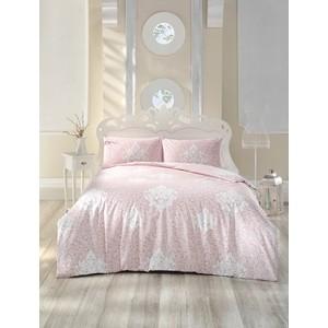 цена Комплект постельного белья Altinbasak Евро, ранфорс, Snazzy розовый (297/34/CHAR003) онлайн в 2017 году
