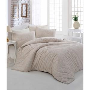 Комплект постельного белья Altinbasak Евро, ранфорс, Rozi кремовый (297/49/CHAR002) цены
