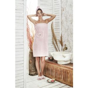 Набор для сауны женский Karna Paris грязно-розовый (325/CHAR001)