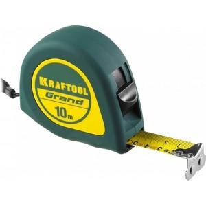Рулетка Kraftool 10м/25мм (34022-10-25) рулетка зубр мастер автостоп 10м 25мм 34052 10 25