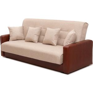 Диван Экомебель Лондон рогожка микс бежевая диван экомебель лондон рогожка микс коричневая