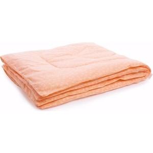 Одеяло Vikalex бязь, холлофайбер 110х140, персиковый с бантиками (Vi21106)